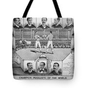 Boxing: American Champions Tote Bag by Granger