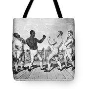 Boxing: Cribb V. Molineaux Tote Bag by Granger