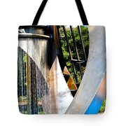 Boyd Plaza Fountain II Tote Bag