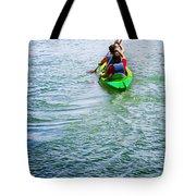 Boys Rowing Tote Bag