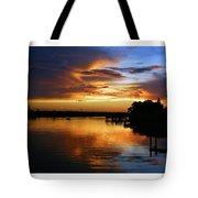 Braden River Sunset Tote Bag