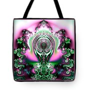 Brain Power Full Of Ideas Fractal 117 Tote Bag