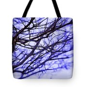 Branches In Winter Tote Bag by Judi Bagwell