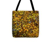 Branches Of Gold Tote Bag