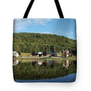 Brant Lake Reflections Tote Bag