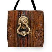 Brass Door Knocker Tote Bag