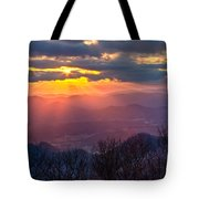 Brasstown Sunset Tote Bag