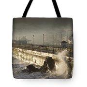 Bray Promenade, Bray, County Wicklow Tote Bag