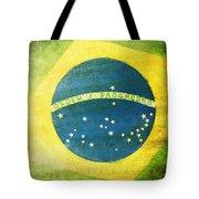 Brazil Flag Tote Bag by Setsiri Silapasuwanchai