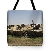 Brdm-2 Combat Reconnaissancepatrol Tote Bag
