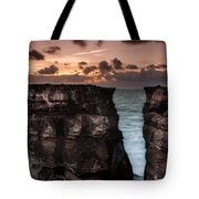 Breach In The Wall Tote Bag