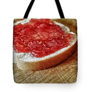 Bread And Jelly Tote Bag