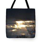 Break In The Clouds Tote Bag