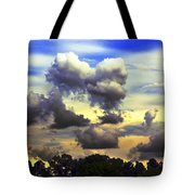 Break In The Clouds Tote Bag