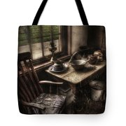 Breakfast Table Tote Bag