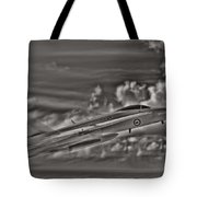 Breaking The Sound Barrier Tote Bag