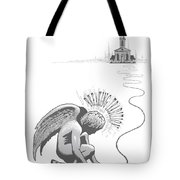 Breaking Tradition Tote Bag