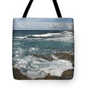 Breaking Waves 7919 Tote Bag