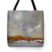 Breakwater Tote Bag by Carol Leigh