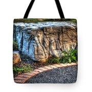 Brenda's Boulder At Dawn Or Altar In The Garden Tote Bag