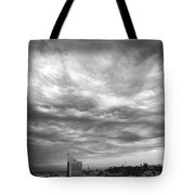 Brewing Sky Tote Bag