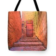 Old Stairs - Bisbee Az Tote Bag