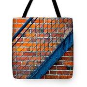 Bricks And Steel Tote Bag