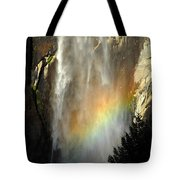 Bridal Veil Rainbow Tote Bag