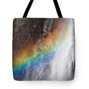 Bridalveil Fall Rainbow Tote Bag