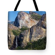 Bride At Yosemite Tote Bag
