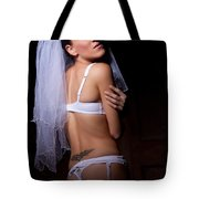 Bride Tote Bag by Ralf Kaiser