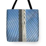 Bridge Abstract Tote Bag