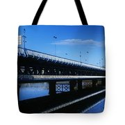 Bridge Across A River, Double-decker Tote Bag