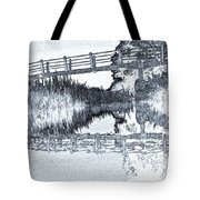 Bridge Across The River Tote Bag