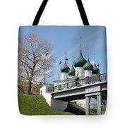 Bridge And Church Tote Bag