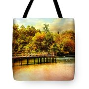 Bridge At Cypress Park Tote Bag
