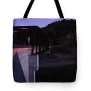 Bridge At Dusk Tote Bag