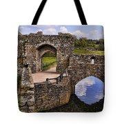 Bridge At Leeds Castle Tote Bag