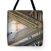 Bridge Geometry Tote Bag