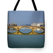 Bridge In Florence Tote Bag