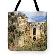 Bridge In Ronda Tote Bag