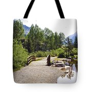 Bridge In Vail - Colorado Tote Bag