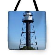 Bridge Lighthouse Tote Bag