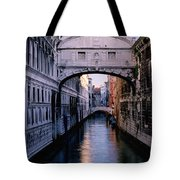 Bridge Of Sighs And Morning Colors In Venice Tote Bag