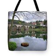 Bridge Over Lima River Tote Bag