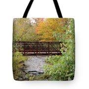 Bridge Over River Tote Bag