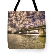 Bridge Over Rotterdam  Tote Bag