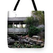 Bridge Over Water Tote Bag