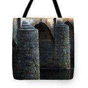 Bridge Pillars Tote Bag