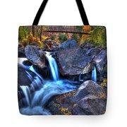 Bridge To The Seasons Tote Bag